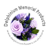 Delphinium Flowers Memorial Products