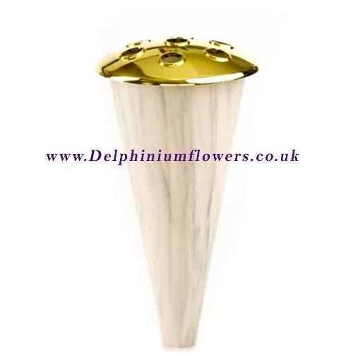 Marble Effect Grave Vase Cone Fs130228 599 Inc Vat